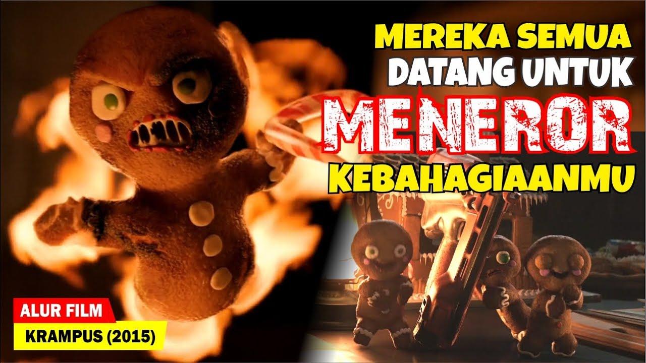 TERROR PARA MONSTER MENGERIKAN DI MALAM NATAL !! | Alur Cerita Film Krampus (2015)