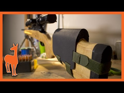 How to Make a DIY Kydex Cheek Riser for a Rifle Stock - Non-Destructive Cheek Rest!