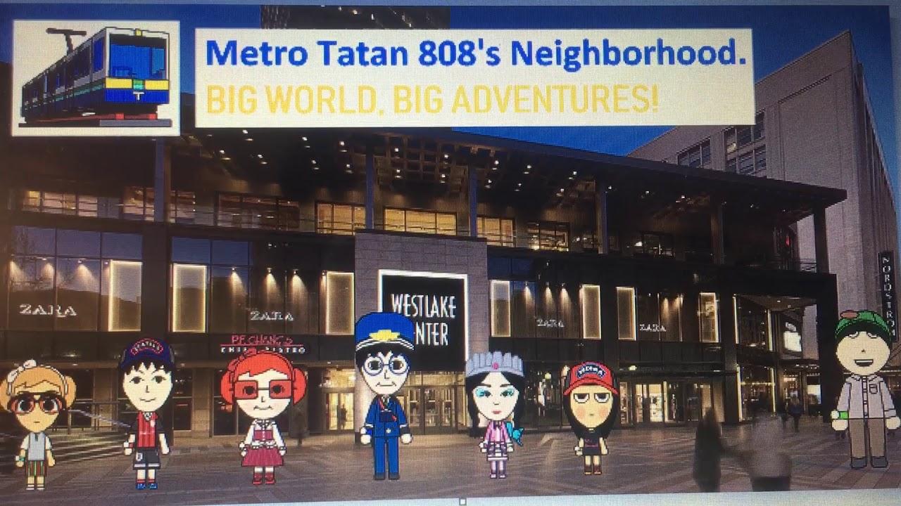 Big World, Big Adventures! Theme Song | Official Lyrics Video | Metro Tatan 808's Neighborhood. #1