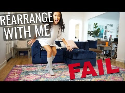 Rearrange With Me FAIL    Living Room Shifts