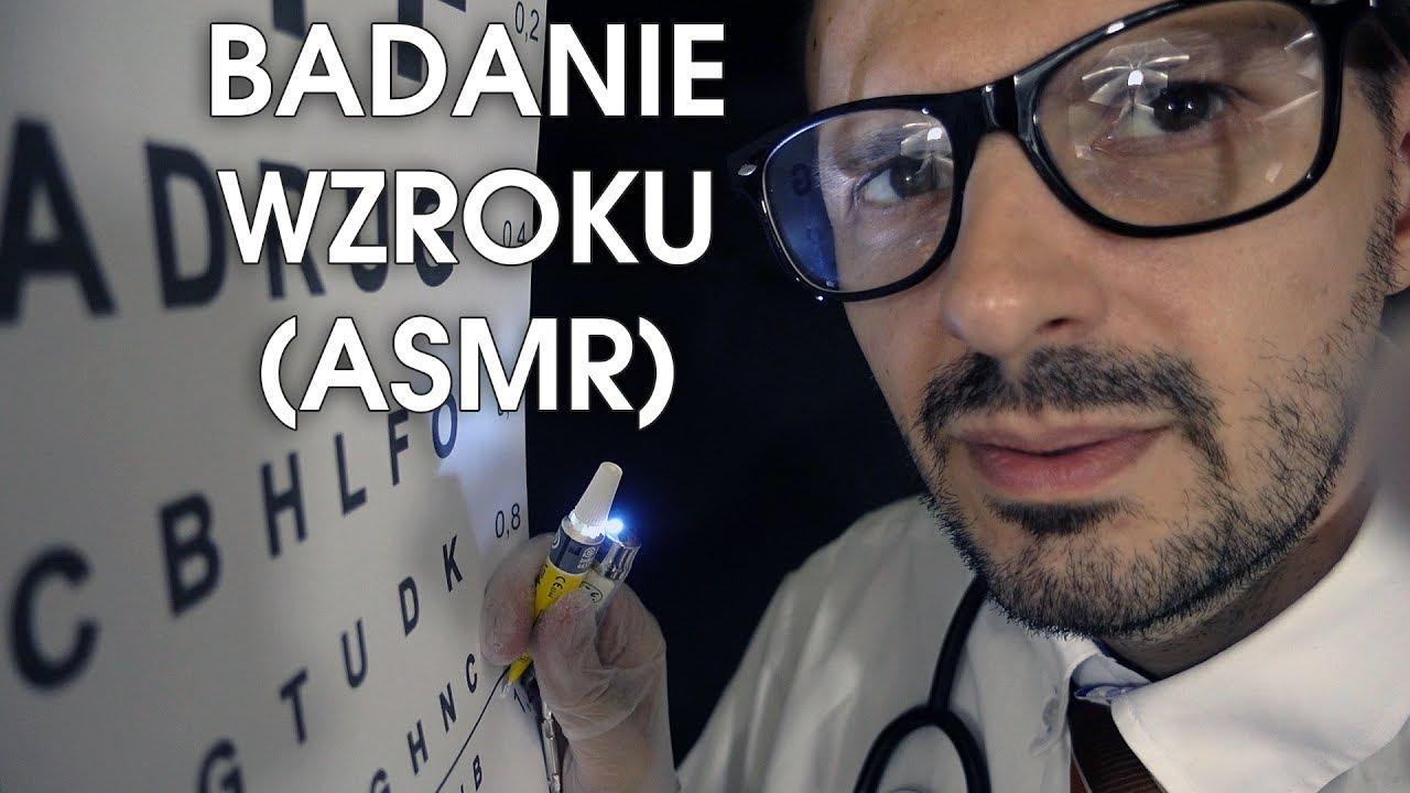 Polski Doktor Bada Wzrok (ASMR Role Play)
