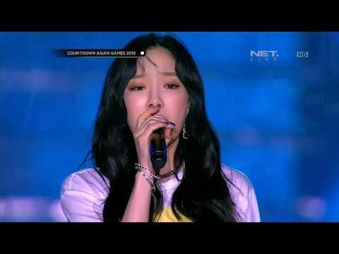 (1080p) Taeyeon Fine+I 170818 Net HD Countdown Asian Games 2018