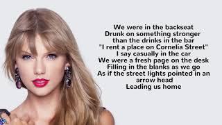 Taylor Swift - Cornelia Street lyrics