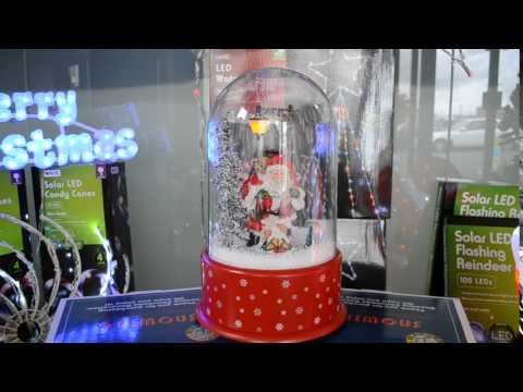 Snowing Musical Christmas Dome
