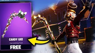 Fortnite Battle Royale OG CANDY AXE MAKE A COMEBACK SEASON 7 ( vbucks giveaway)