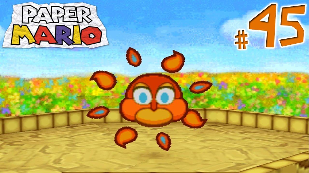 Paper Mario Gameplay Walkthrough Part 45 Time To Shine Youtube