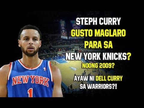 Steph Curry Gusto Maglaro Para sa New York Knicks? | Ayaw ni Dell Curry sa Warriors?