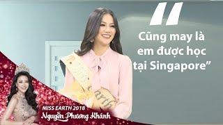Hoa hậu Nguyễn Phương Khánh chia sẻ bí quyết nói tiếng Anh