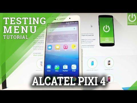 Codes ALCATEL Pixi 4 (4 0) - HardReset info