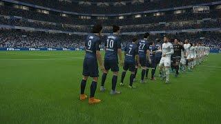 (PS4/Xbox One) FIFA 16 | Real Madrid vs Paris Saint-Germain -  Full Gameplay (1080p HD)