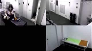 teenage girl falls in a faint bizarrely in school Infirmary