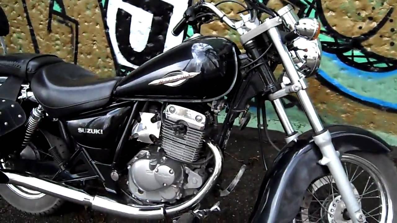 Suzuki Marauder GZ 125 Ccm Exhaust