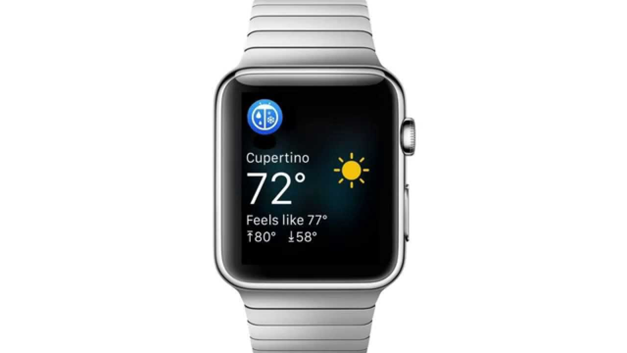 WeatherBug for Apple Watch