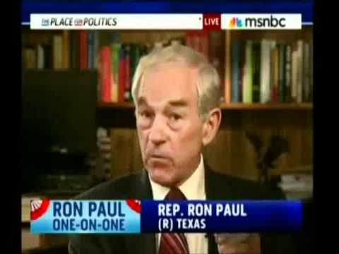 Ron Paul: Your Going to Have Riots in the Streets, the Food Riots Will Come