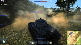 War Thunder tanks Fast attack 60 FPS