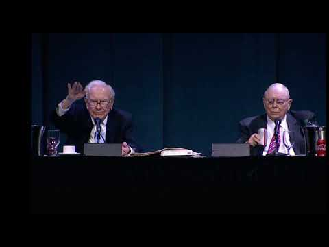 Warren Buffett 2018 Shareholders Meeting, Cryptocurrencies and Gold vs Productive Assets
