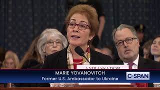 Marie Yovanovitch Complete Opening Statement