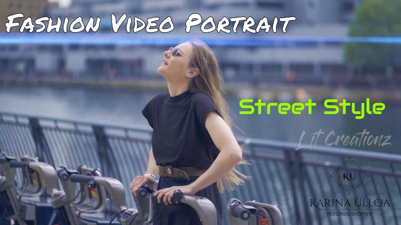 Fashion video Portrait  - Street style || Sony A7 iii