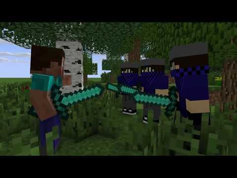 diamond man life 4  - ZooZoo Minecraft animations