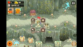 Kingdom Rush Frontiers - Iron Challenge The Dark Descent - Level  14