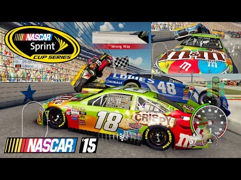 Nascar 15 The Game: Texas Motor Speedway Best Longer Crash Compilation in 21st Century 3