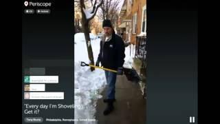 Every Day I'm shoveling