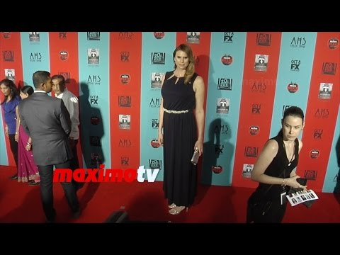Erika Ervin  American Horror Story Freak  PREMIERE  Red Carpet