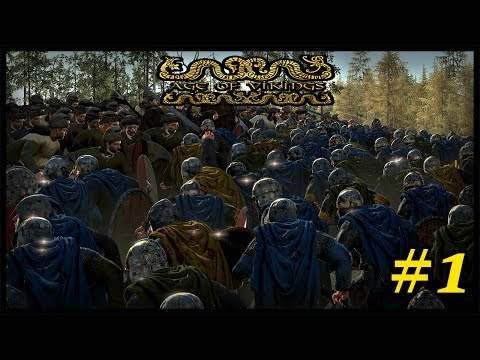 Ragnar's Legacy - Age Of Vikings Total War Mod Gameplay #1