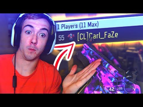 RED CARL PLAYING BO3 AS FAZE CARL?!
