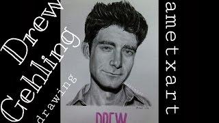 Drew Gehling drawing - Ametxart