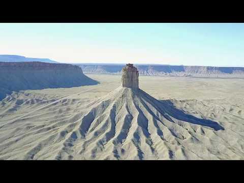 Drone flight - Chimney Rock, Colorado, United States