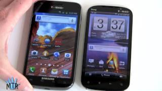 samsung galaxy s ii vs htc amaze 4g on t mobile comparison smackdown
