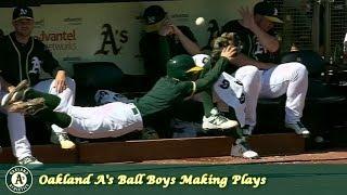 Oakland A's Grab Bag Episode 13 - Ball Boys Making Plays