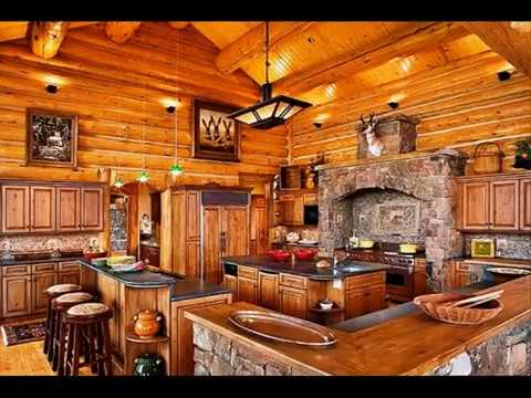 Charming Country Cabin Kitchen