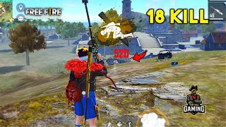 Insane 18 Kill AWM and M82B Ajjubhai and Romeo Op New Gameplay - Garena Free Fire