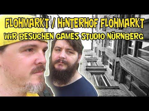 Rps Ep 139 Flohmarkt Hinterhof Flohmarkt Wir Besuchen Games Studio Nurnberg