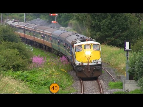 IRRS Diesel Railtour to Waterford & Limerick (19-7-2014)