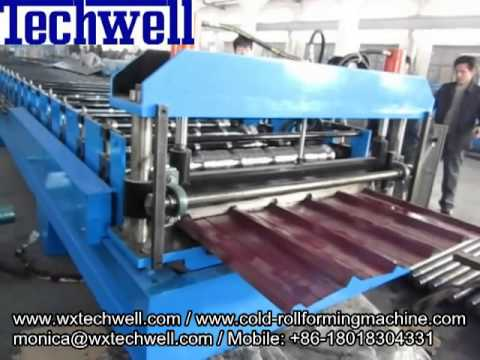 Roofing Sheet Roll Forming Machine Roof Panel Roll