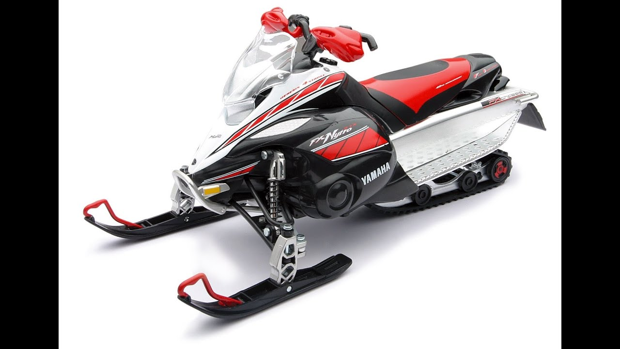 New ray toys 1 12 scale snowmobile yamaha fx nytro 42897 for New yamaha snowmobile