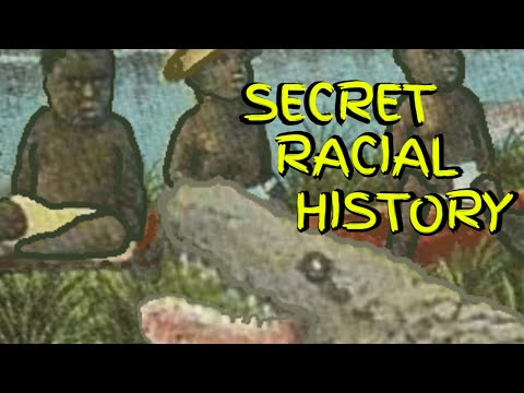 Black Babies As Alligator Bait by White Gator Hunters ~ Let's talk about our real racial histor