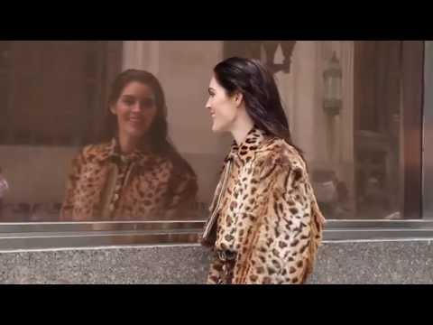 Making of  New York avec Hilary Rhoda for L'Officiel Paris Magazine