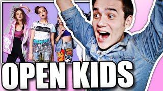 Реакция на Open Kids - Не танцуй (Backstage)