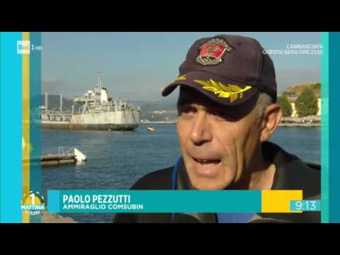 HSA Comsubin Marina Militare Italiana - uno Mattina 1 agosto 2017