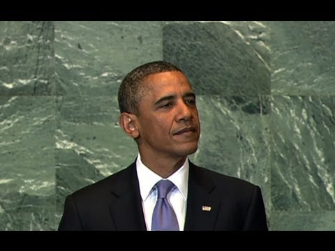 President Obama Addresses the UN General Assembly