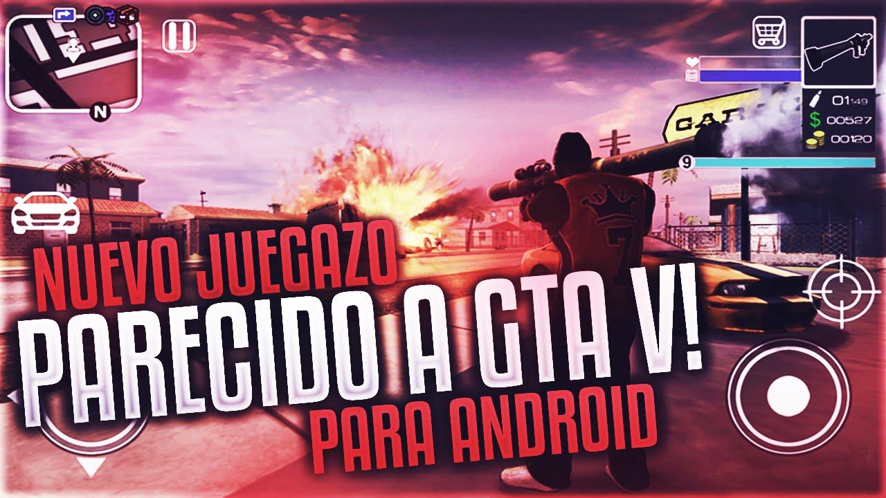 Descarga Nuevo Juegazo Parecido A Gta V Para Android Youtube