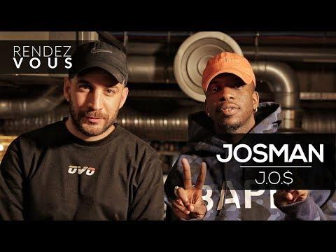 Youtube: JOSMAN«J.O.$» ( Nouveau statut, absence médiatique, Eazy Dew… ) – Interview Rendez Vous