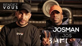 "JOSMAN ""J.O.$"" ( Nouveau statut, absence médiatique, Eazy Dew... ) - Interview Rendez Vous"