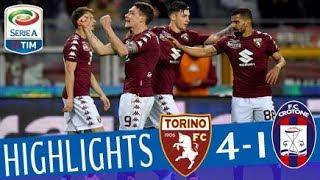 Torino - Crotone 4-1 - Highlights - Giornata 27 - Serie A TIM 2017/18 streaming