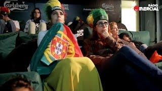 Rádio Comercial | Bancada Carlsberg Mais Pequena do Mundo - Polónia X Portugal