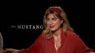 Matthias Schoenaerts And Laure De Clermont Tonnerre Discuss The Mustang